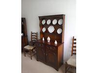 Oak diningroom suite