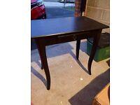 IKEA Leksvik black office table