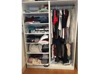 Wardrobe / shelves x2