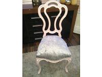 Pretty little shabby chic vintage chair