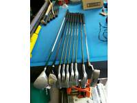 set of kids golf clubs, irons are US kids