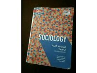 Sociology A-level year 2 student book