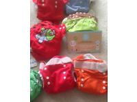 Complete washable reusable nappy kit