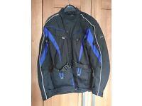 Mens waterproof bike jacket