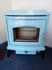 Variety of wood burning stoves all different sizes