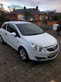 ***Vauxhall Corsa white 1.2 petrol manual