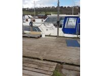 Birchwood 25 boat with Mooring