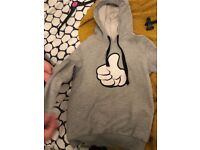 Disney thumbs up hoodie