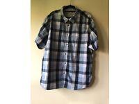 Mantaray, Mens Casual/Smart Shirt, Blue Colour, Great Quality, Size XXXL