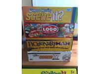 Selection of board games £5each
