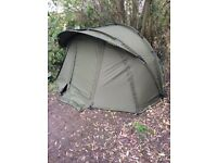 trakker trident AS aquatexx m11 bivvey compleat , exerlent condition