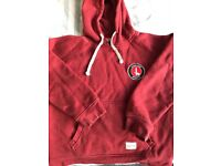 Official Charlton Athletic hoody age 8/9