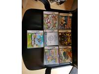 Nintendo DS with 7 games inc mario and pokemon