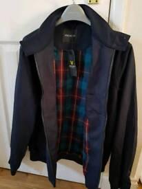 Brand new Lyle & Scott blue jacket (large)