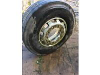 Various Coach / Lorry Tyres & Alloy Wheels - Part Worn