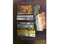 Numerous pre recorder VHS Video tapes