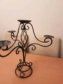 Vintage style candle stand