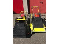 2 x Hayter Condor Lawnmowers - both with Kohler Magnum 8 engines