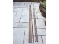 Copper pipe 22mm and 15mm