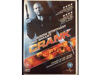 Crank DVD Jason Statham Excellent Condition