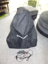 Stowmatic golf trolley & charger no battery vgc