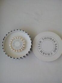 Thomas sabo Pearl charm bracelet. Brand new.