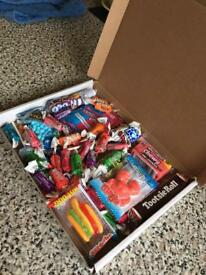 American sweet boxes £12.00