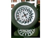 "15"" vauxhall 4 stud alloy wheels"