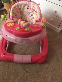 Pink (my child) walker