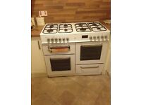 Bush dual fuel range cooker