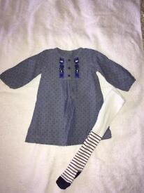 M&s girls dress size 6-9 months