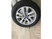 BMW 3 series Alloy wheel and tyre