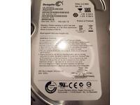 Pc hard drive 500g