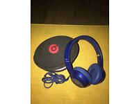 Genuine Beats Solo 2 Headphones Only 2 Months Old....