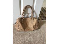 Ladies camel colour handbag for sale!