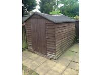 FREE GARDEN SHED FULL OF WOOD