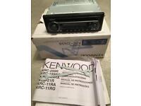Kenwood CD car radio