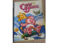 Care Bear MARVEL comics & folder - original 1980's!