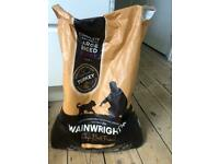 Wainwright's puppy food large bag *opened*