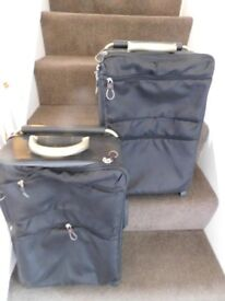 Two Hold Luggage Cases