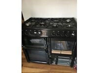 *Brand New* BEKO Gas Range Cooker **GLASS DAMAGED IN TRANSIT** Includes Replaacement Glass