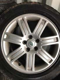 """Set of Range Rover vogue 19"""" alloys tyres T5 vw discovery"""