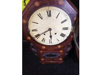 Antique Wall Clock For Restoration