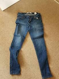 ladies abercrombie jeans w29 leg 31