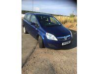 Vauxhall, ZAFIRA, MPV, 2009, Manual, 1598 (cc), 5 doors