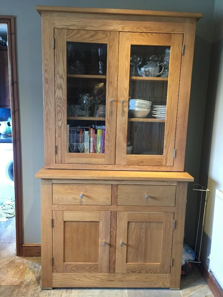 with hayes tr oak furniture glass hutch doors door lombardy display cabinet