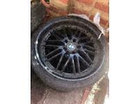 "Bmw Alloys 20"" x 1 - Good Tyres!"