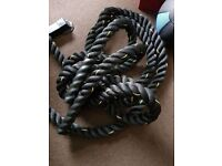 Battle Fitness Exercise Rope - 15m, 50mm