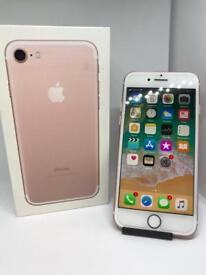iPhone 7 Rose Gold Unlocked Boxed