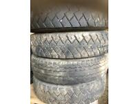 Lorry truck tyres Michelin 11 22.5
